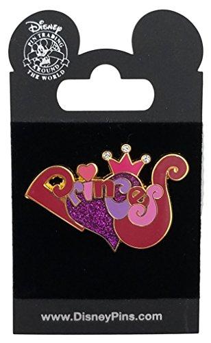 Disney Pin - Disney Princess - Puff Letters