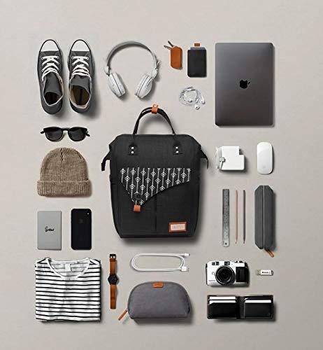 Zaino per Laptop, Zaino per Computer Portatile 15.6 Pollici, Zaino Donna con Caricatore USB, Zaino Lavoro Donna per… 6 spesavip