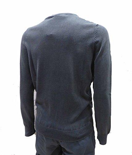 azul chaqueta pantalones para Ma1136 hombres sudadera Militare Aeronautica polo Sweater qYUttH