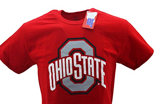 - J America Men's Ohio State Buckeyes T-Shirt Red