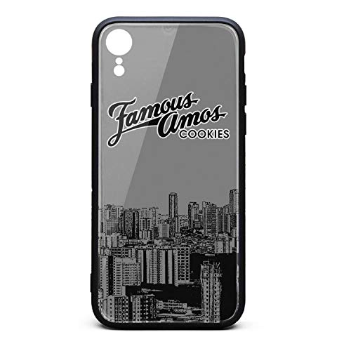 AINIJIAJ Designed for iPhone XR Screen Protector TPU Rubber Case 9H Tempered Glass Back Cover Bumper Slim Fit Pretty Cell Phone Skid-Proof Protective Skin