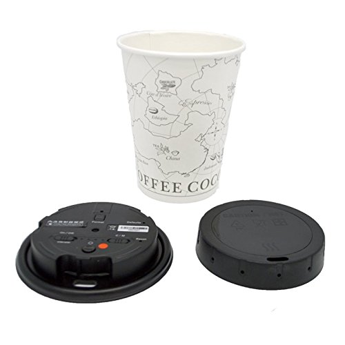 LawMate PV-CC10W 1080P Covert Coffee Cup Lid Camera DVR with WiFi