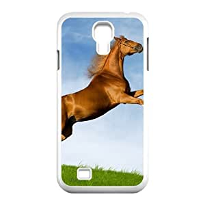 HXYHTY Customized Horse Pattern Protective Case Cover Skin for Samsung Galaxy S4 I9500