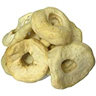 NUTS U.S. - Dried Apple Rings, No Added Sugar, No Artificial Color, Chewy Texture, NON-GMO, Juicy and Natural!!! (2 LBS)
