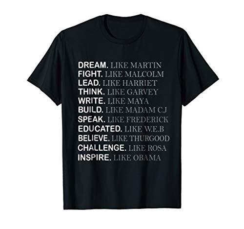 Black History Month T-shirt, Inspire like Obama Shirt