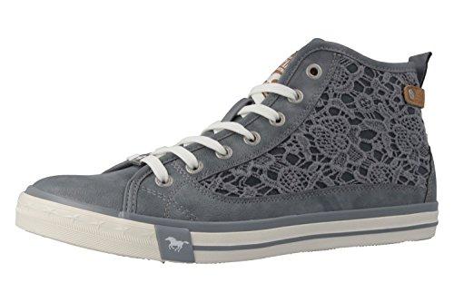 MUSTANG 1146-507-875 mujeres botas Gris - gris