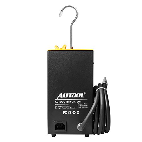 AUTOOL SDT-106 Vehicle EVAP System Leak Testing Machine Leak Detector, 12V Automotive Fuel Pipe System Leak Tester with EVAP Adapters for All Cars Motorcycles - 3 Years Warranty by AUTOOL (Image #8)