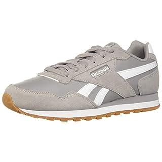 Reebok Men's Classic Harman Run Sneaker, Powder Grey/Grey/White/Gum, 8.5 M US
