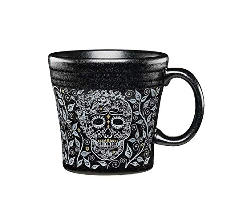 - Fiesta Vine and Skull Ceramic Tapered Mug