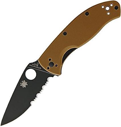 Spyderco Tenacious Linerlock Brown