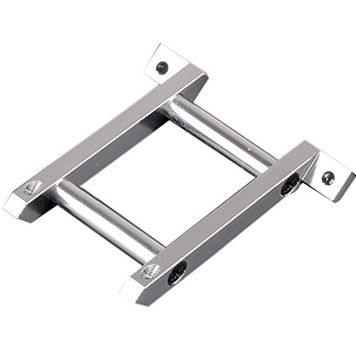 SODIAL(R) For RC HSP 108035 Silver Aluminum Front Brace For 1: 10 Model Car Upgrade Parts
