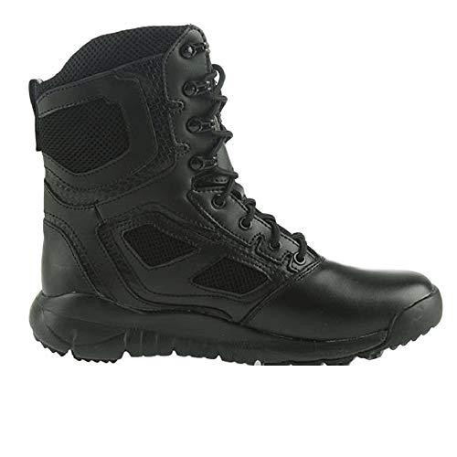 Stivali Stivali Tattici da Combattimento da Uomo Traspirante Ultraleggero Ultraleggero Desert Boots High-Top Black