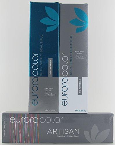 (Eufora Color Low Ammonia, VIOLET INTENSIFIER, 3.4 oz)