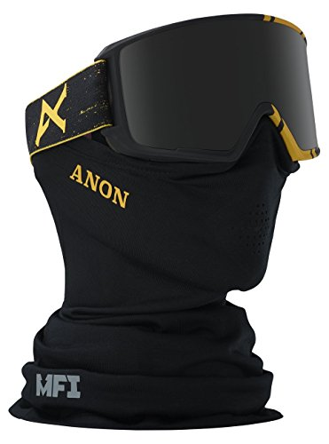 Anon M2 MFI Merrill Pro Snowboard Goggle with Spare Lens Asian Fit, Black, One Size