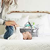 Baby Diaper Caddy Organizer, Large Grey Portable