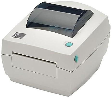 Zebra GC420d - Impresora de etiquetas (Color blanco, CODABAR ...