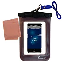Outdoor Gomadic Waterproof Carrying Case designed for the Apple iPod touch– Keeps Device Clean and Dry