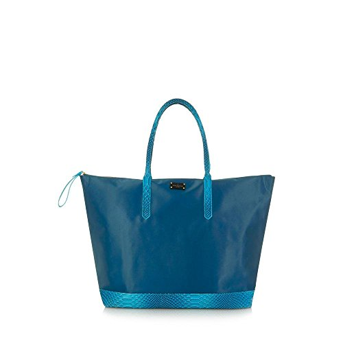 Paul's Boutique, Borsa a spalla donna Blu Teal Snake