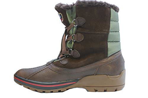 Pajar Mens Banff Ii Boot Marrone Scuro / Verde Militare