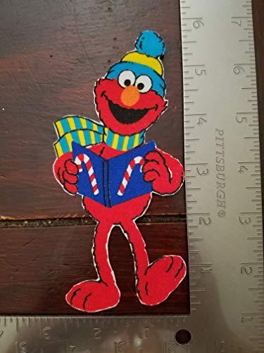 - Holiday Elmo Iron On Applique #162
