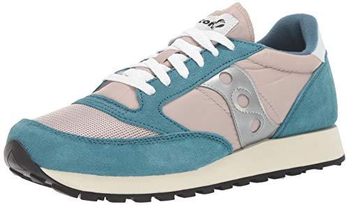 - Saucony Originals Men's Jazz Original Sneaker, Blue/tan/Silver, 6.5 M US