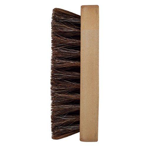 JobSite Horsehair Shine Brush