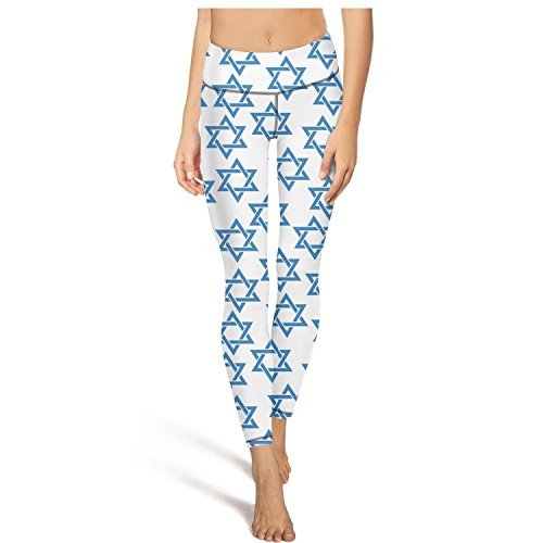 Mosaic David - PDAQS Tisha B'Av Kosher White Mosaic Star of David White Background Yoga Pants Leggings Outfit Leggins