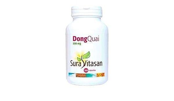 Dong Quai 100 cápsulas de Sura Vitasan: Amazon.es: Salud y cuidado personal