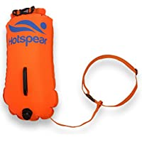 Swim Buoy Dry Bag HOTSPEAR for Open Water swimmers and...