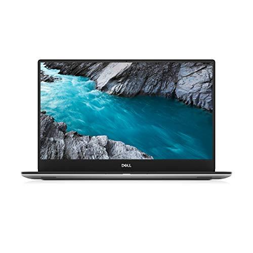 "Dell 15 XPS 7590 Laptop 15.6"" 4K UHD 3840 x 2160 OLED InfinityEdge Anti-Reflective display Intel Core i7-9750H 4.5GHz,16GB Ram,1TB SSD, 4GB GTX 1650 GDDR5,Finger Print,Eng-Arabic KB,Windows 10,Silver"