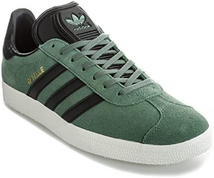 adidas Originals Men's Gazelle Trainers Trace Core US5.5 Green