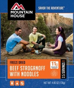 Mountain House Beef Stroganoff with (Maintenance Canned Food)