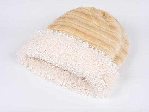 Faux Sable Mink Cuddle Cup Bed for Dogs by Susan Lanci (Susan Cup)