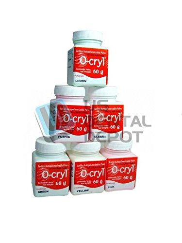 Ecco O-CRYL Ortho polymer Crystal Clear 60gr w/ Glitter s...