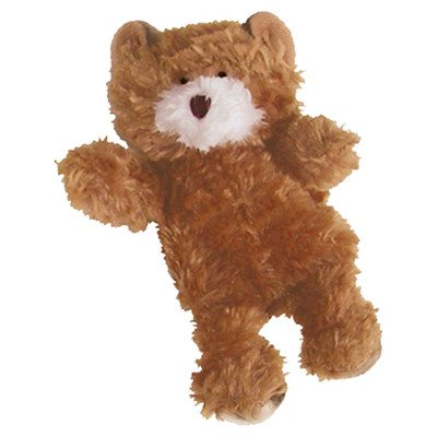 Dr. Noy's Teddy Bear Plush Dog Toy Size: X-small