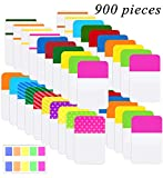 Norocme 900 Pieces Tabs Sticky Index