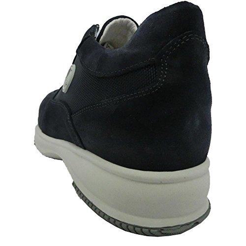 Exton , Herren Sneaker blau blau 42 EU