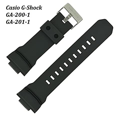 Replacement WATCH STRAP to fit CASIO G Shock Watch Model # Ga200-1 Ga-200-1 (The Hundreds G Shock)