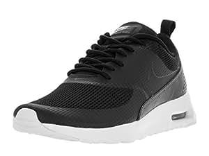 Nike Women's Air Max Thea TxT Black/Black Running Shoe 5.5 Women US