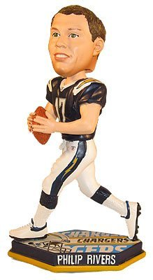 Philip Rivers San Diego Chargers Thematic Base Bobblehead Figurine