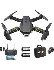 XTREME STYLE ✈️ XS89FPV-PRO Mini drone met 4K camera. 50x D-zoom. 2 batterijen, 30 min vliegtijd. 150 m. Opvouwbare, stijlvolle RC Quadrocopter voor kinderen en beginners. Veel vluchtmodi. Koffer en LED