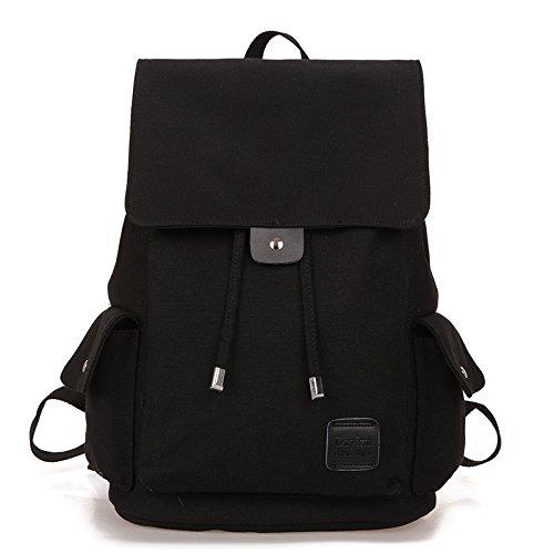 ZJFXSNEH LaptoptascheArbeitsbeutelRucksack mit USB-AnschlussCanvas double Umhängetasche canvas Double Shoulder Bag für einen Studenten Paket Freizeit Outdoor Sport Paket,001