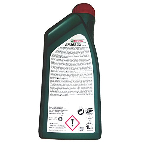 Brake Fluid 1 Litre by Castrol Part RR363 by Castrol