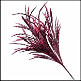21'' Artificial Ribbon Grass Outdoor Rated- Burgundy