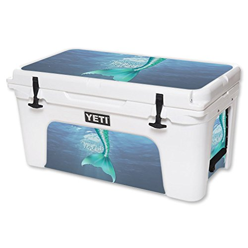 MightySkins Skin For YETI 65 qt Cooler - Im Really A Mermaid | Protective, Durable, and Unique Vinyl Decal wrap cover | Easy To Apply, Remove, and Change Styles | Made in the USA by MightySkins