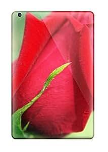 New Arrival Ipad Mini/mini 2 Case Red Flowers Case Cover