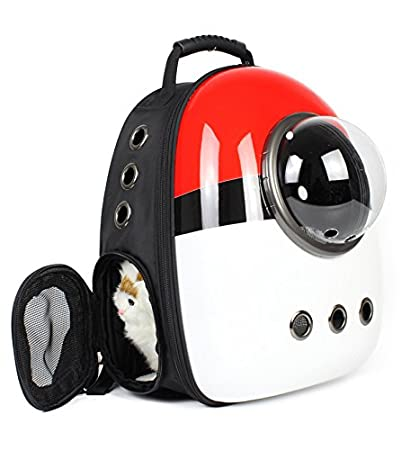 a70e8618ed Qunlei Pet Carrier Travel Backpack Bubble Backpack Pet Carriers for Cats  /Small Medium Dogs/