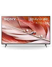 Sony X90J 75 Inch TV: BRAVIA XR Full Array LED 4K Ultra HD Smart Google TV with Dolby Vision HDR and Alexa Compatibility XR75X90J- 2021 Model