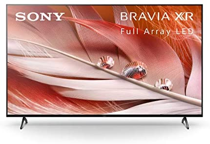 Sony X90J 65 Inch TV: BRAVIA XR Full Array LED 4K Ultra HD Smart Google TV with Dolby Vision HDR and Alexa Compatibility XR65X90J- 2021 Model