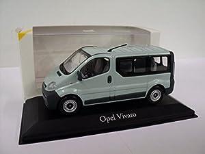 GENUINE Vauxhall Combo C 1:43 Diecast Model Car by Minichamps Yellow 9162986